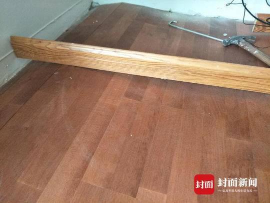 新房木地板大面积起拱消费者要求更换 商家却说:没质量问题