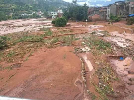 宜宾屏山洪灾 :3人失联 1人失踪 1500余人紧急转移