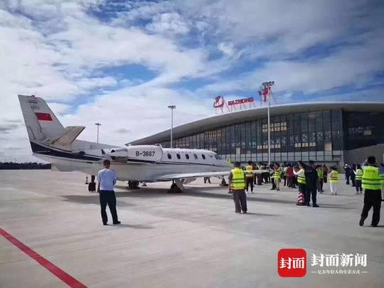 巴中恩阳机场正式校飞 通航进入倒计时