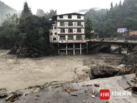 汶川撤离故事:泥石流过后 都留下了些什么