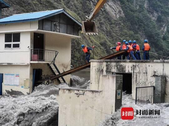 水利部:四川龙潭水电站破闸过流险情基本解除