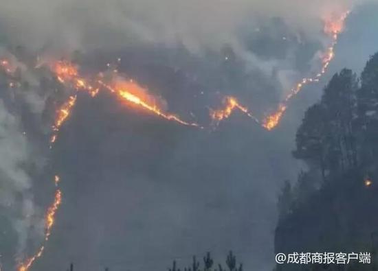 pk彩票苹果版下载2起森林火灾造成重大损失 甘孜雅江25人被严肃追责