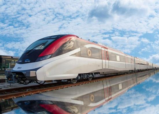 时速达176km 成都自主化新一代市域A型列车试验圆满完成