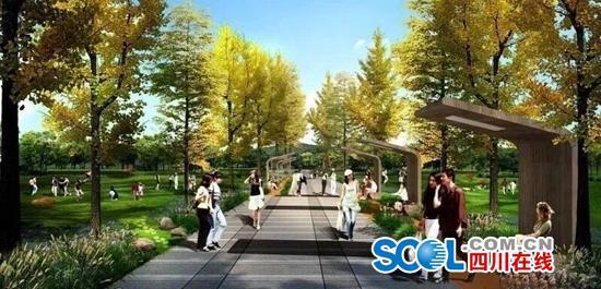 淮州新城中央公園今年底亮相 效果圖先一睹為快!