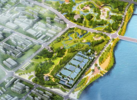 城市污水处理厂提标改造 建成后日处理污水25万吨