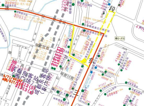23路(起讫点:车城西三路站—双桥子南站)