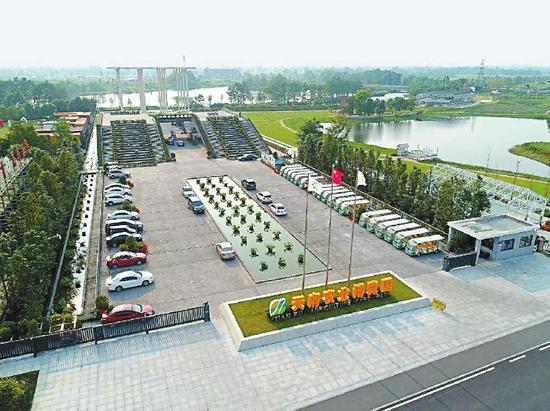 位于新津的天府农业博览园一角。记者 陈鹏 摄