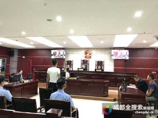 聚众斗殴 简阳一男子一审被判有期徒刑两年
