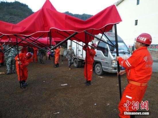 四川兴文5.7级地震已致17人轻伤 供水供气已恢复