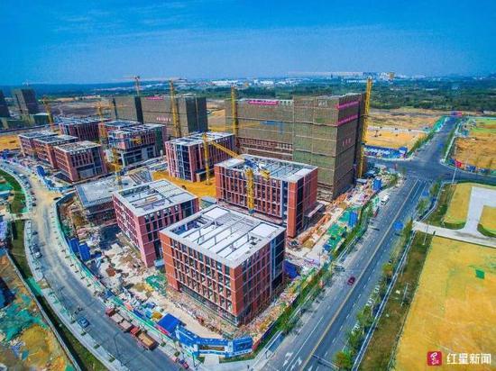 双方计划在成都天府国际生物城共同打造京东方(成都)健康产业园项目.图片