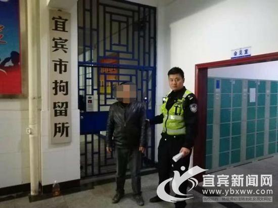 双双被拘留。(高速交警 供图)
