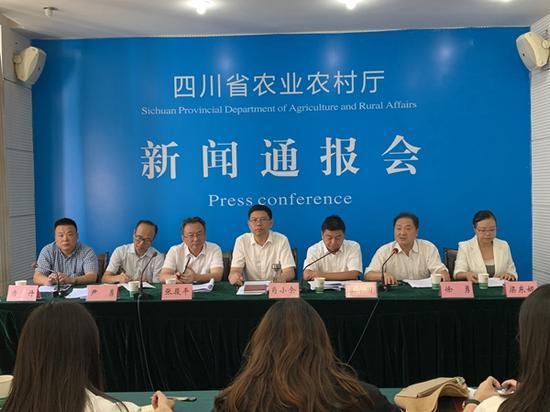 提升川字号品牌 上半年四川农产品安全总体合格率99.5%