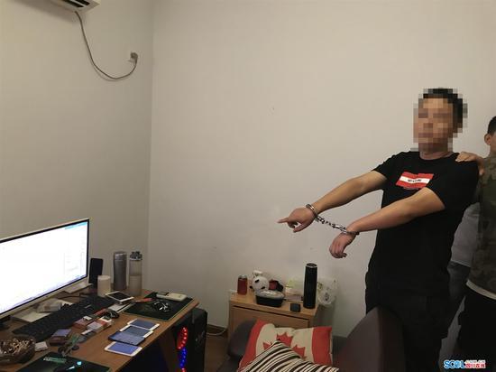 四川绵竹公安破获特大网络开设赌场案 涉案金额达3亿元