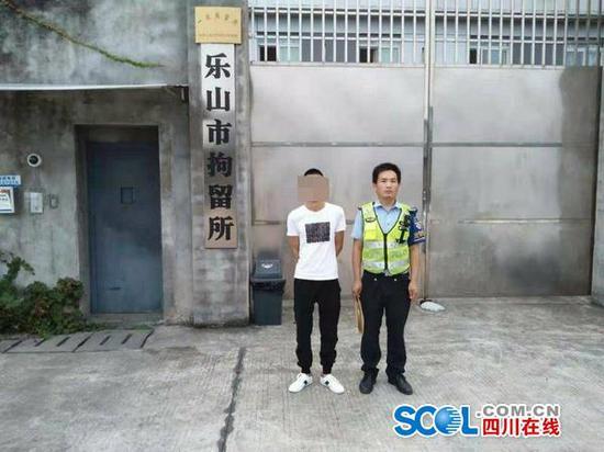 拘留5天罚款1000 成乐高速一男子无证驾驶被查