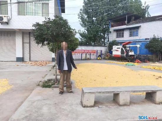 罗江男子专盗农民劳动成果 被警方行拘8日