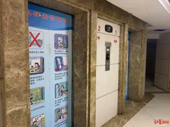 电梯一部件钢绳变尼龙绳 业主:担心安全问题 只敢走楼梯回家
