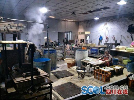 成都市温江区3家非法经营小作坊被查