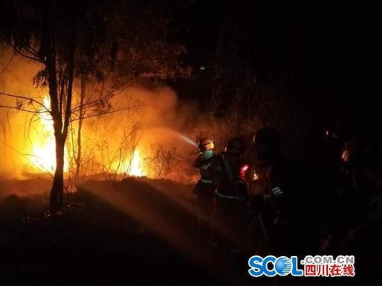 14小时260名消防员鏖战 西昌液化气站明火被扑灭