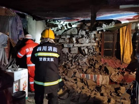 石渠5.6级地震无人员伤亡 造成790户房屋不同程度受损