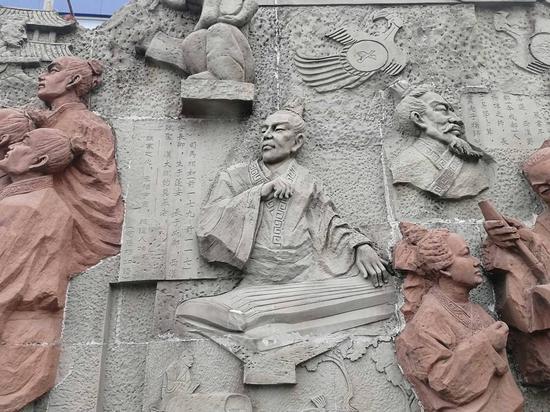 成都薛涛井、射洪子昂读书台 追寻第二批四川历史名人的足迹