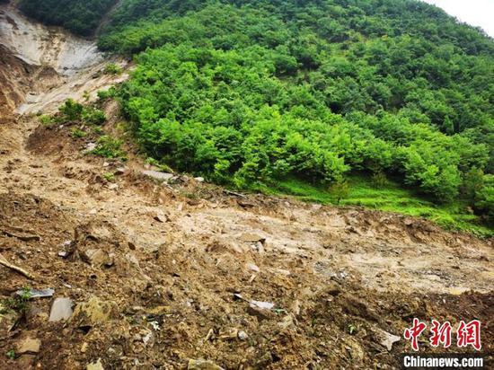 四川旺苍发生高位山体滑坡诱发泥石流灾害 致1人遇难