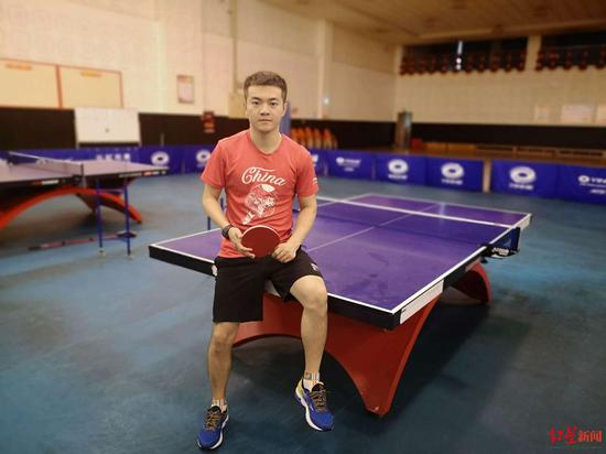 乒乓球运动员朱霖峰:做梦都在想明年大运会上如何取得新突破