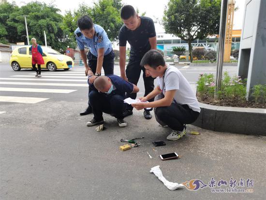 犯罪嫌疑人卢某被抓获