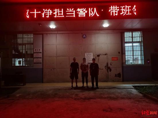 9月8日,犯罪嫌疑人谢某被警方抓获归案