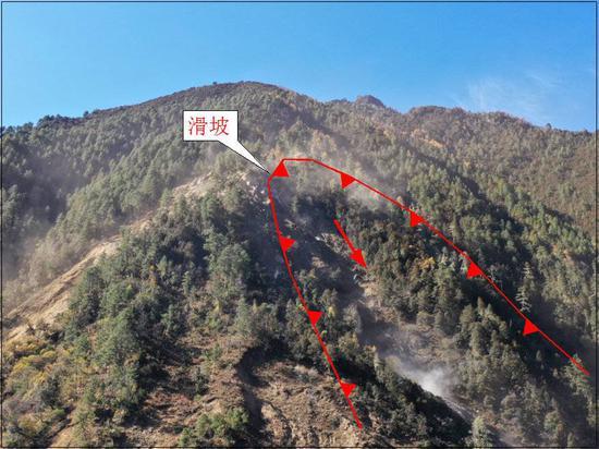 四川九龙县滑坡或因降雪融化导致 专家:已形成堰塞湖稳定性较