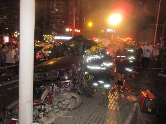 达州5.17交通事故报告 肇事货车严重超载且刹车失灵致1死14伤