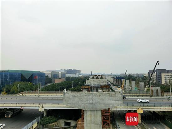 无缝串联两大高速 成灌高速入城段改造工程力争明年春节前完工