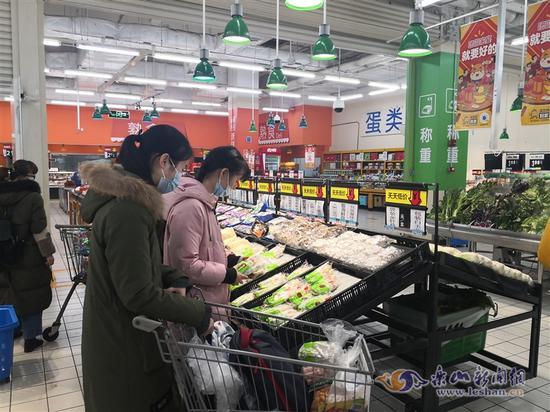 """春节将至,乐山""""菜篮子""""充足稳定"""