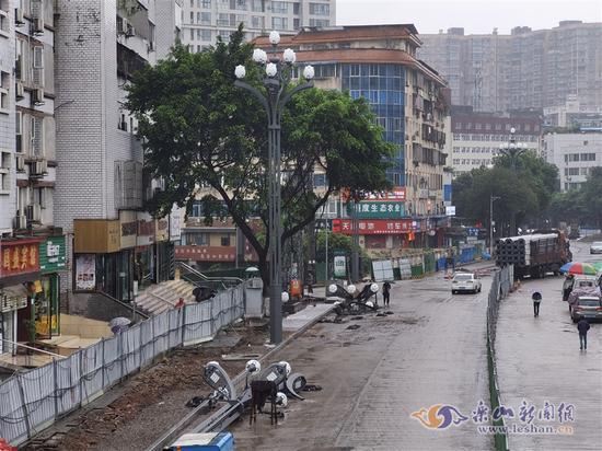嘉定路二期改造工程预计4月底完成