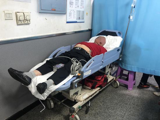 一男子误把皂角水当中药喝 结果进了医院