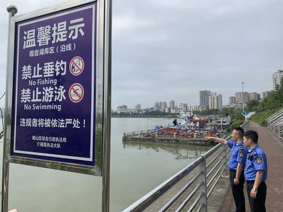 遂宁观音湖库区(岸线)禁钓禁泳整治情况如何? 一起来看