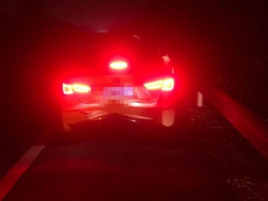 酒驾肇事逃逸回家睡觉 高速公安4小时抓获