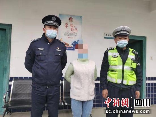 驾驶员在微信朋友圈发布辱骂交警文字被行政拘留5日。 交警四大队供图