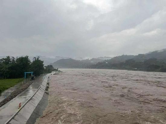 受強降雨影響 夾江全縣共計轉移安置298人