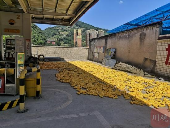 对宜宾珙县一加油站D级危房,暗访组限其15天拿出整改方案
