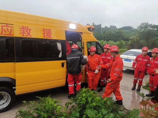 国家矿山应急救援芙蓉队 供图