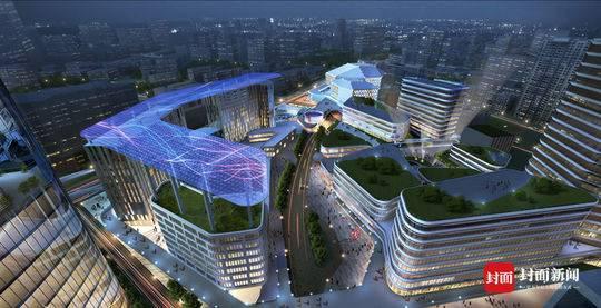 规划面积约1.2平方公里的成都音乐坊首开区将和成都城市音乐厅同时亮相。