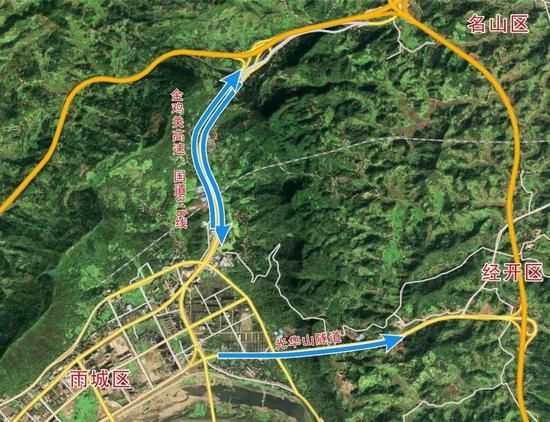光华山隧道管制期间如何顺利出行?机动车通行攻略来了