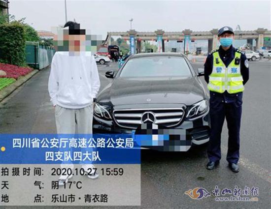 杨某某将被交警部门依法处罚