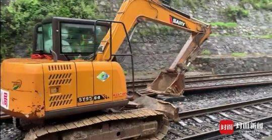 成昆铁路再次中断 部分列车将停运至8月30日