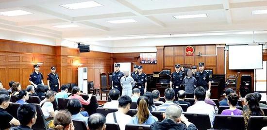 自贡两毒贩被宣判执行死刑
