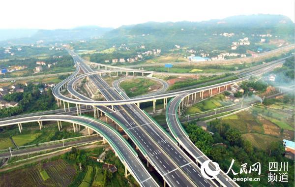 助推川渝交通一体化发展 三年内两地将新建16条高速公路