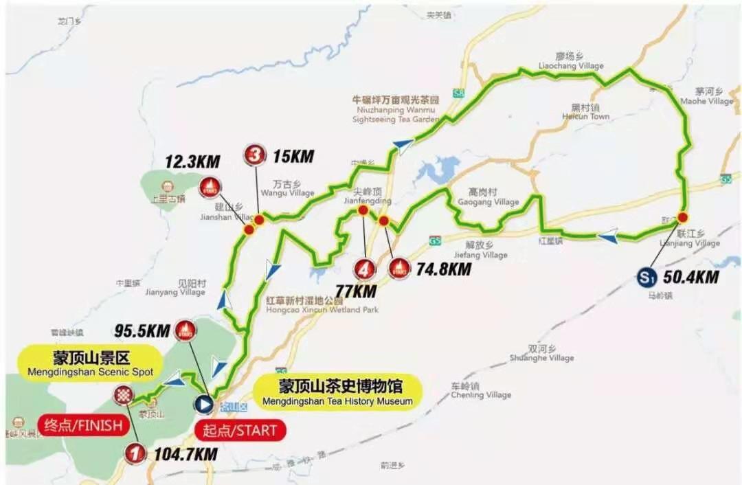 21日名山公路自行车赛 雅安最全交通管制、绕行攻略在这里