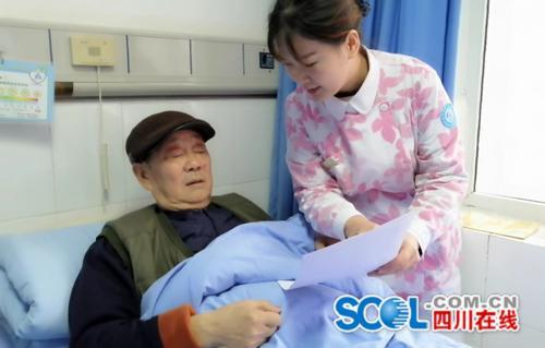 """遂宁95后护士绘漫画讲肿瘤 患者看图后感觉""""暖暖的"""""""