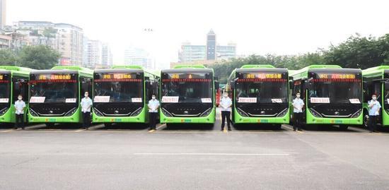自贡高铁公交快线G1路开行在即 从城区坐公交40分钟到高铁站