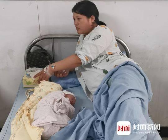 宜宾孕妇顶着余震娩下第一个地震宝宝:想给他起一个有意义的